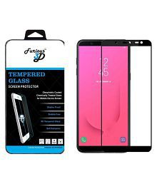 Samsung Galaxy J8 2018 Tempered Glass Screen Guard By Furious3D Prefect Fit