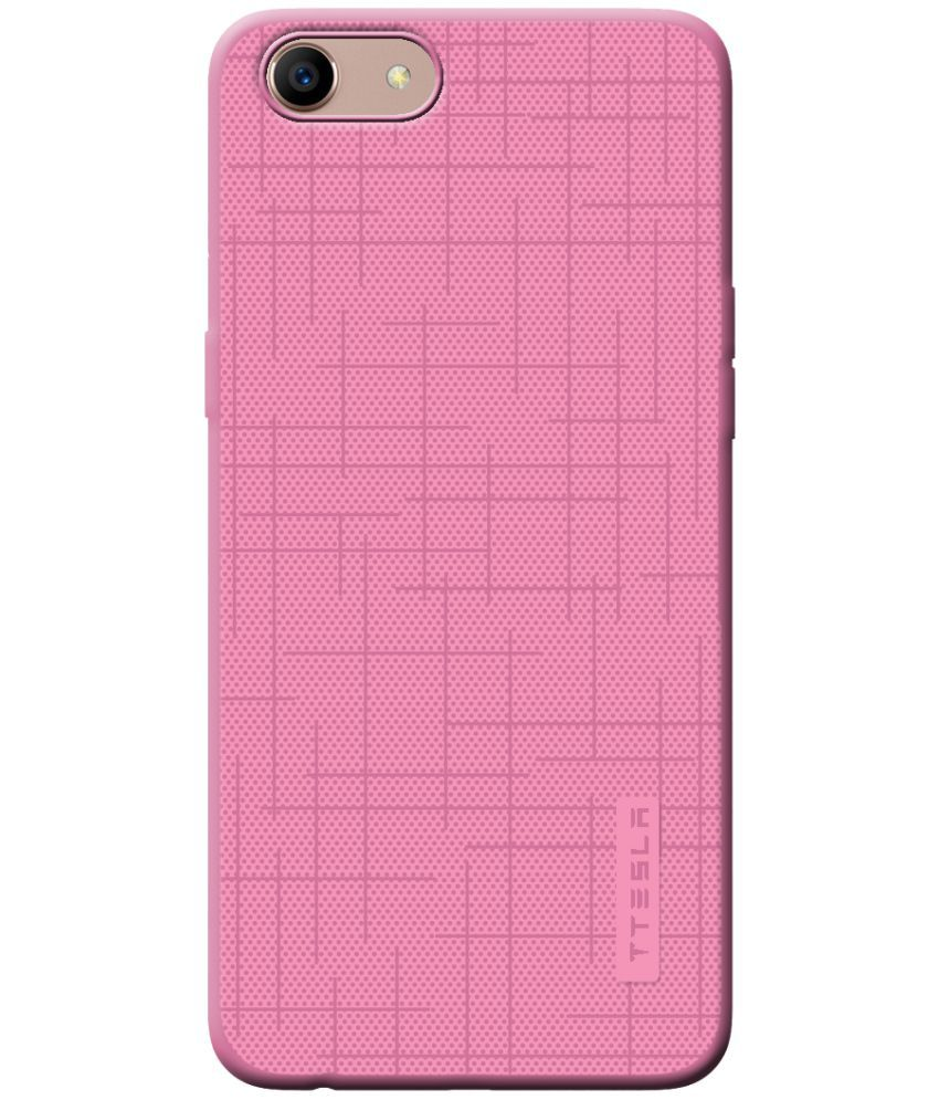 Oppo A59 Plain Cases Cellmate - Pink Color Series