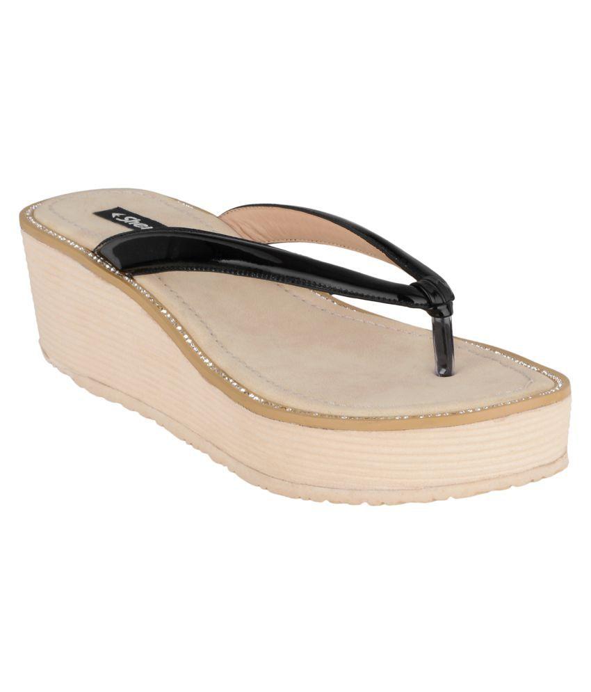 Sherrif Shoes Black Slippers