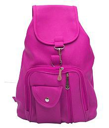 Bizarre Vogue Stylish College Bags Backpacks For Women & Girls (Pink, BV916)