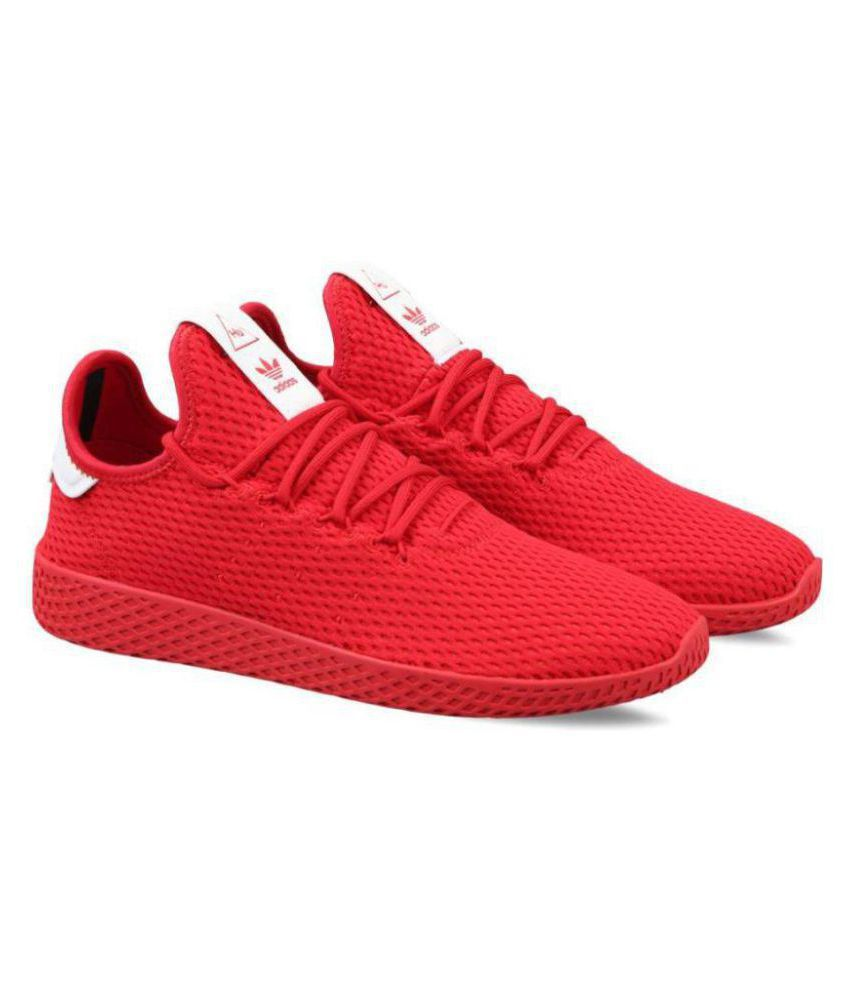 Adidas Pharrell Williams Sneakers Red Training Shoes - Buy ...