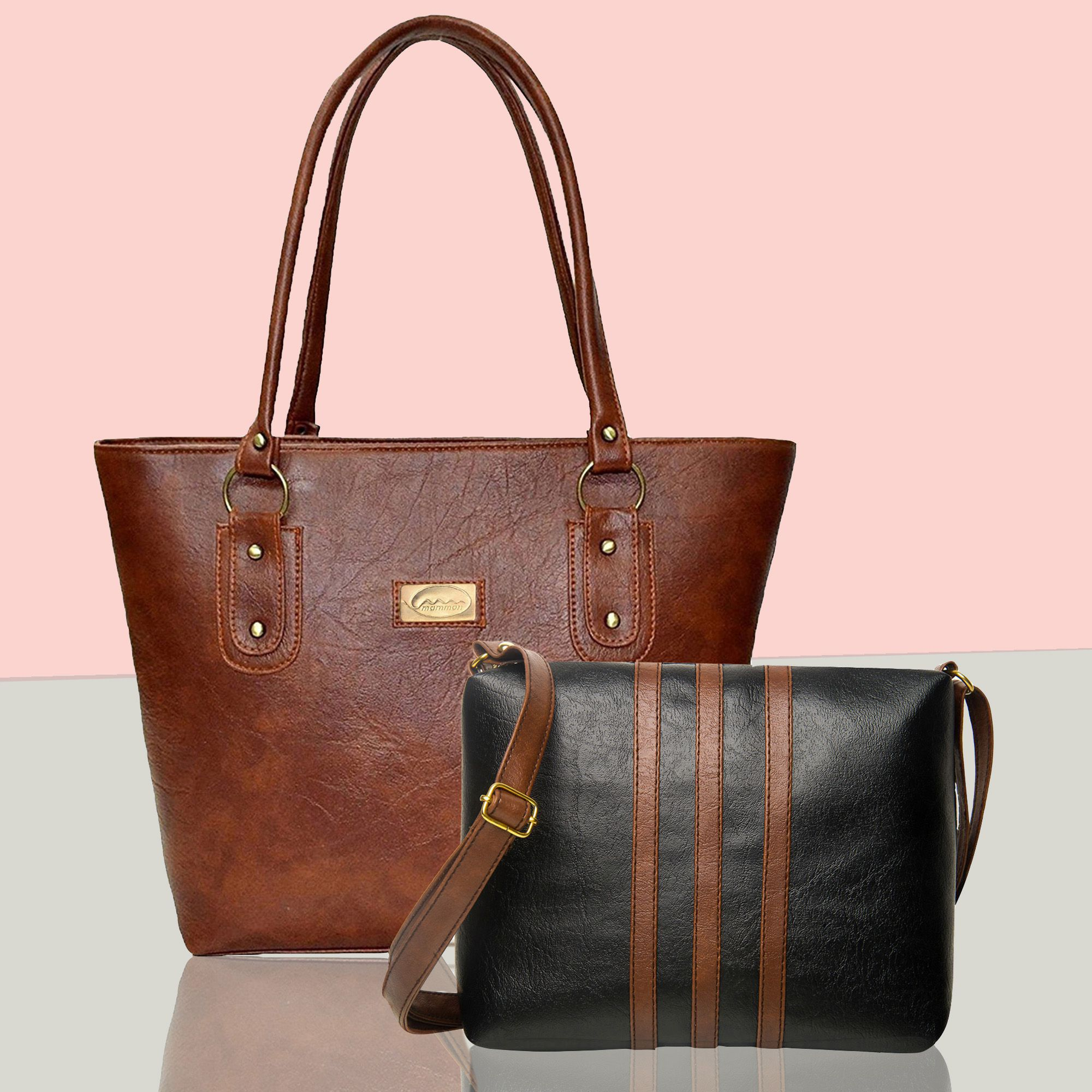 ea812d6e1f8ee Best Buy Combo Multi Faux Leather Shoulder Tote Bag by Mammon - Buy Best  Buy Combo Multi Faux Leather Shoulder Tote Bag by Mammon Online at Best  Prices in ...