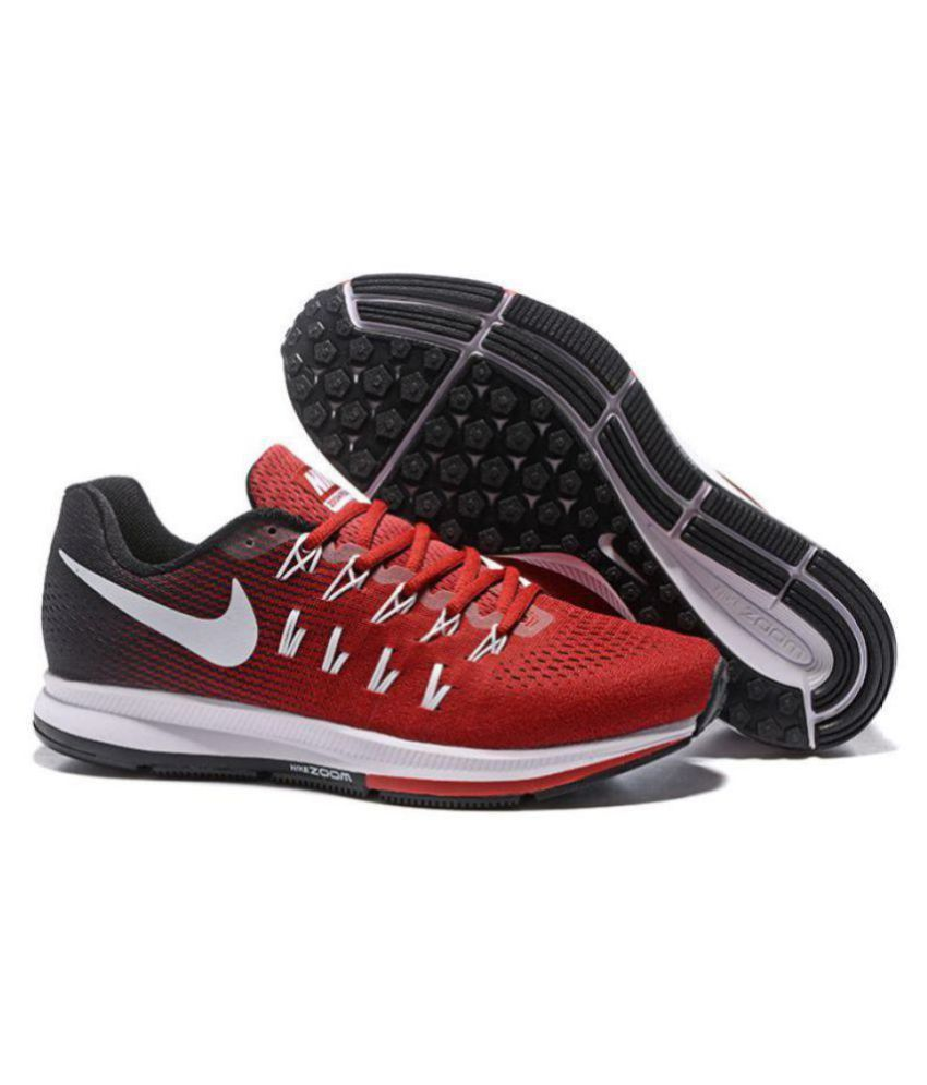 Nike 1 Pegasus 33 Grey Blue Maroon Running Shoes - Buy Nike 1 ... 1538a45985