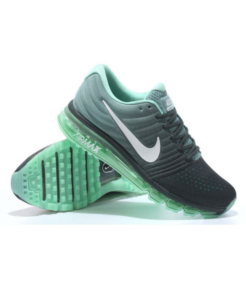 buy online a1428 a27aa ... czech nike airmax 2017 all colour green running shoes 71579 be012