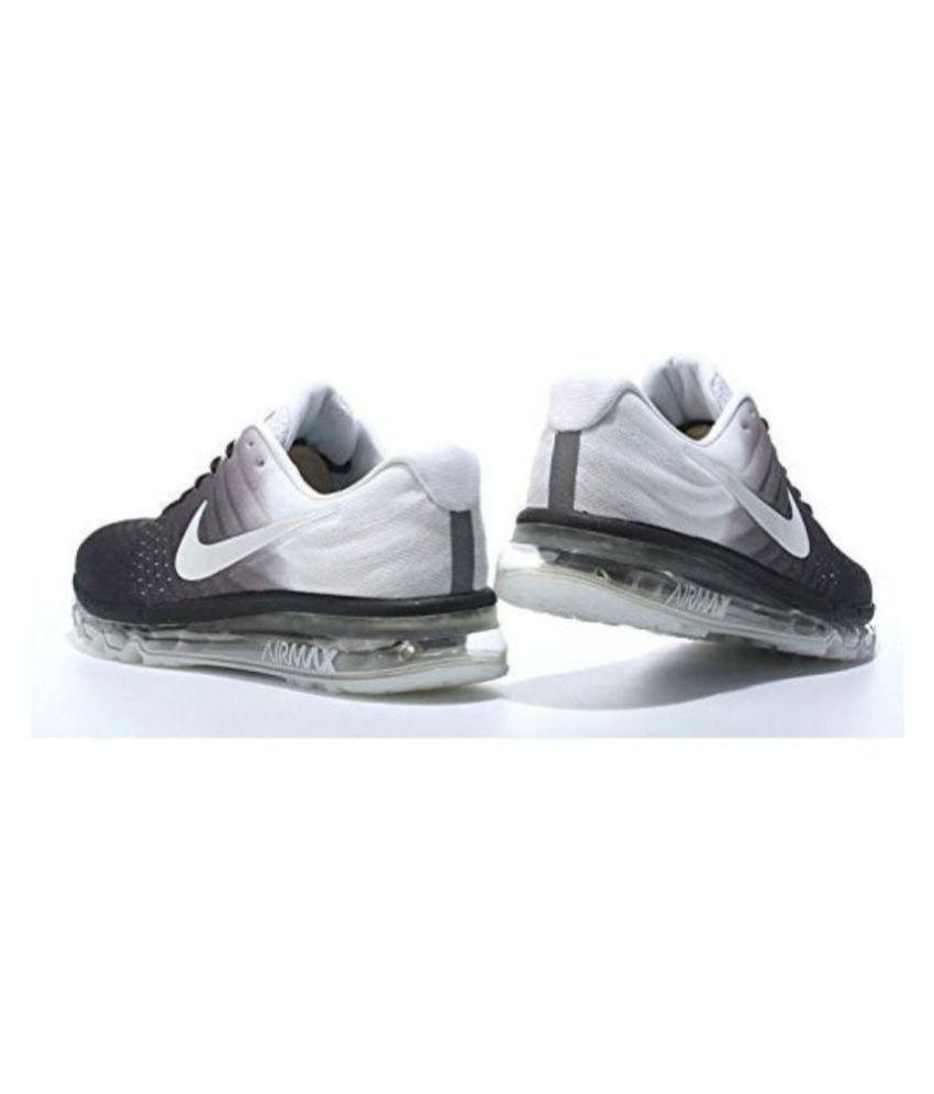 separation shoes 15efe f1f88 Nike AIRMAX 2017 BLACK-WHITE Multi Color Running Shoes - Buy Nike AIRMAX  2017 BLACK-WHITE Multi Color Running Shoes Online at Best Prices in India  on ...