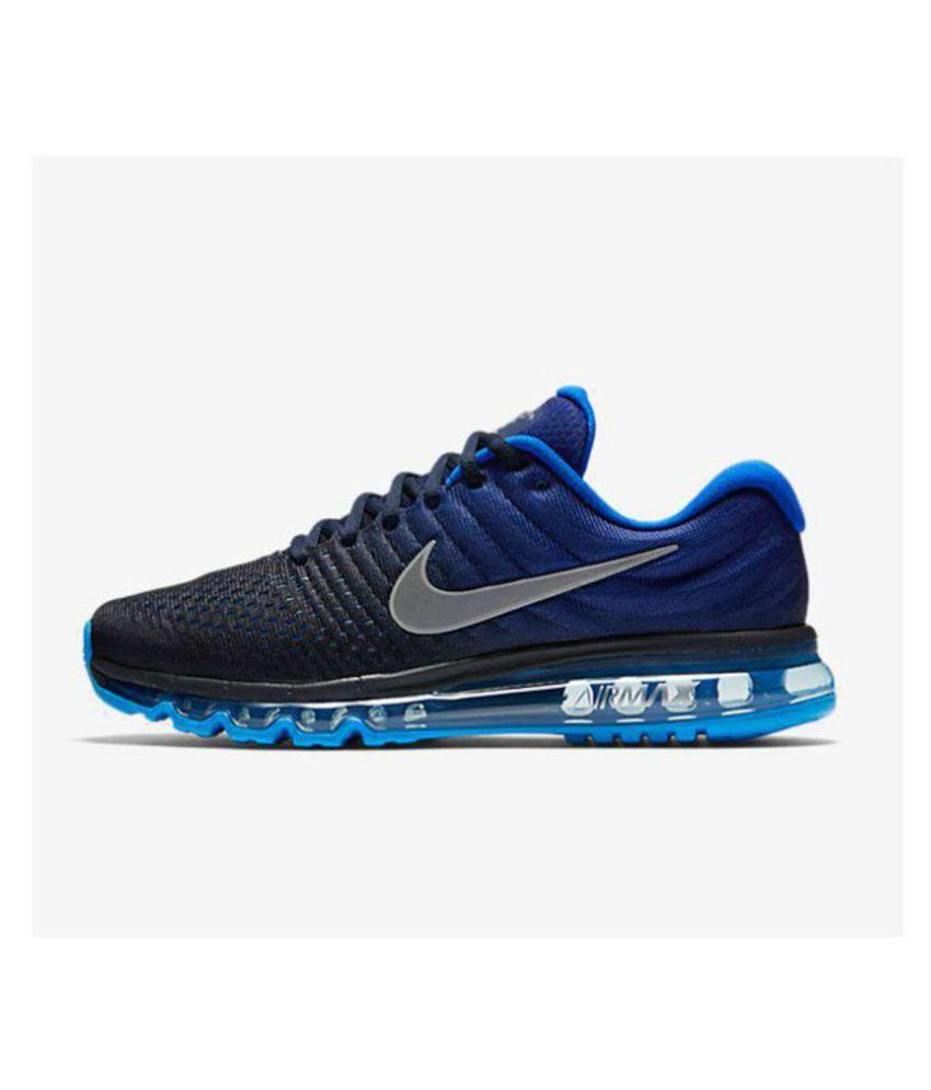 Nike AIRMAX 2017 Blue Running Shoes - Buy Nike AIRMAX 2017 Blue ... e48507731d94