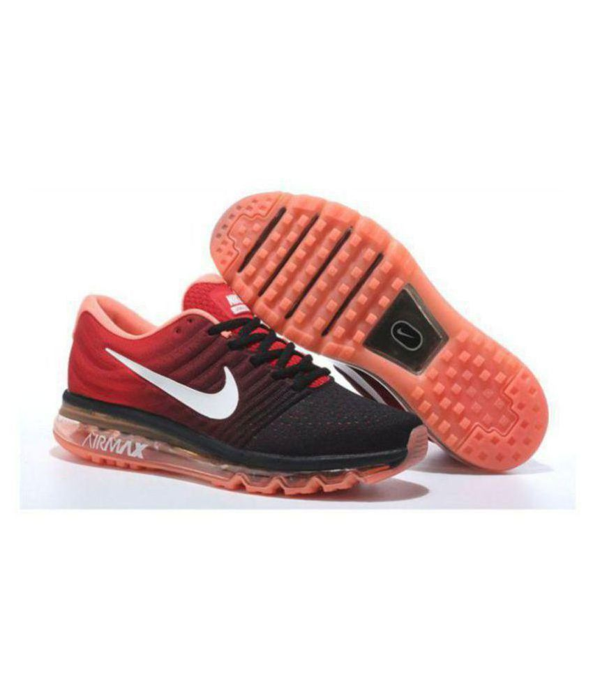 Nike AIRMAX 2017 ORANGE Orange Running Shoes - Buy Nike AIRMAX 2017 ORANGE  Orange Running Shoes Online at Best Prices in India on Snapdeal 5be87a0852e0