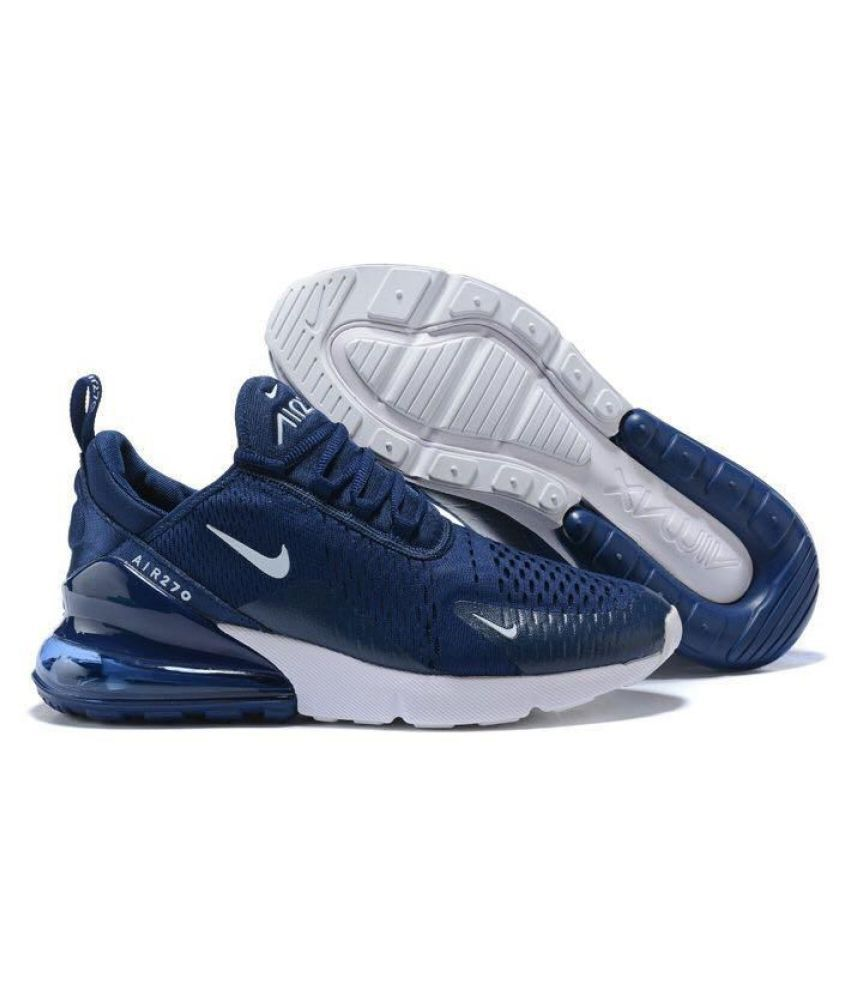 9cd6ad3b4cb Nike Air Max 270 Navy Running Shoes - Buy Nike Air Max 270 Navy Running  Shoes Online at Best Prices in India on Snapdeal