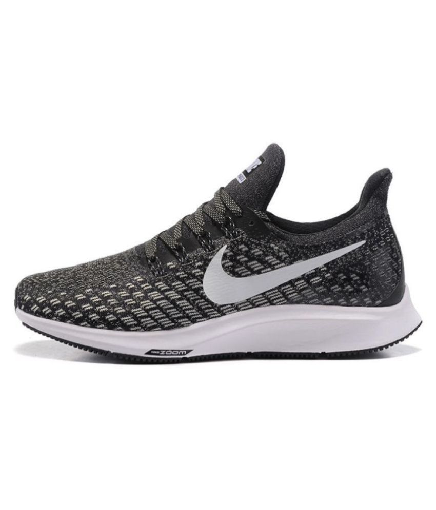 0d33ea5fb509 Nike Zoom pegasus 35 Black Running Shoes - Buy Nike Zoom pegasus 35 Black  Running Shoes Online at Best Prices in India on Snapdeal