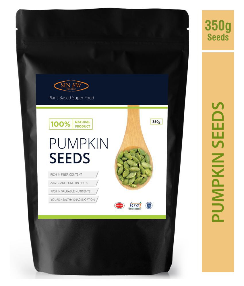 Sinew Nutrition Pumpkin Seeds Protein And Fibre Rich Superfood - 350 gm