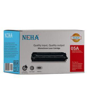 Neha 05A Black Single Toner for HP LaserJet P2032, P2035, P2035n, P2055, P2055d, P2055dn, P2055x
