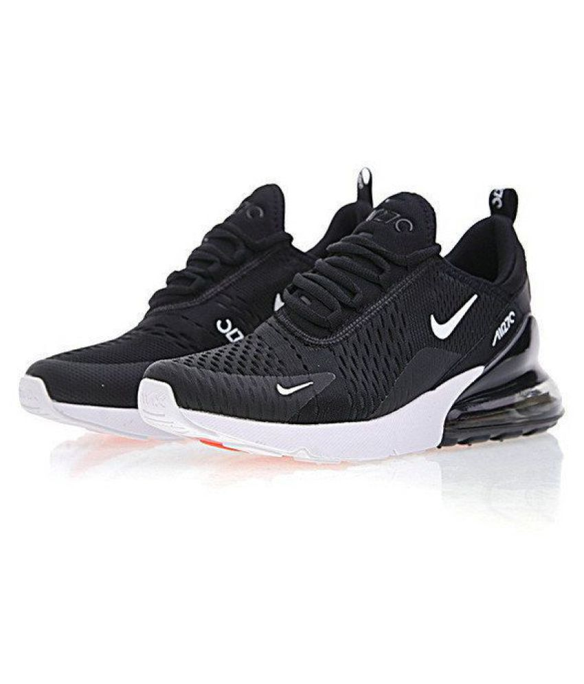 ... Nike Air Max 270 Black Running Shoes ...