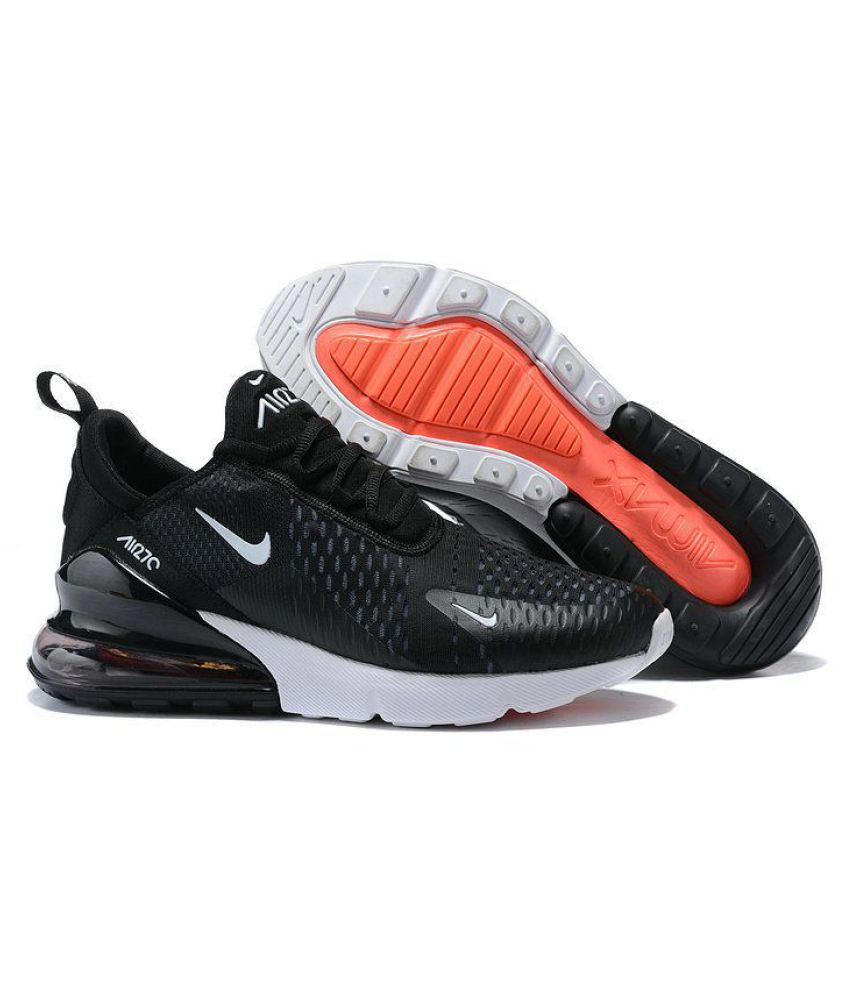 545e67f78bbc19 Nike Air Max 270 Black Running Shoes - Buy Nike Air Max 270 Black Running  Shoes Online at Best Prices in India on Snapdeal
