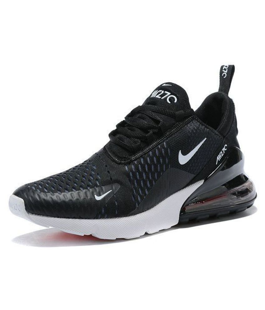 89e20bdffa39f5 Nike Air Max 270 Black Running Shoes - Buy Nike Air Max 270 Black ...