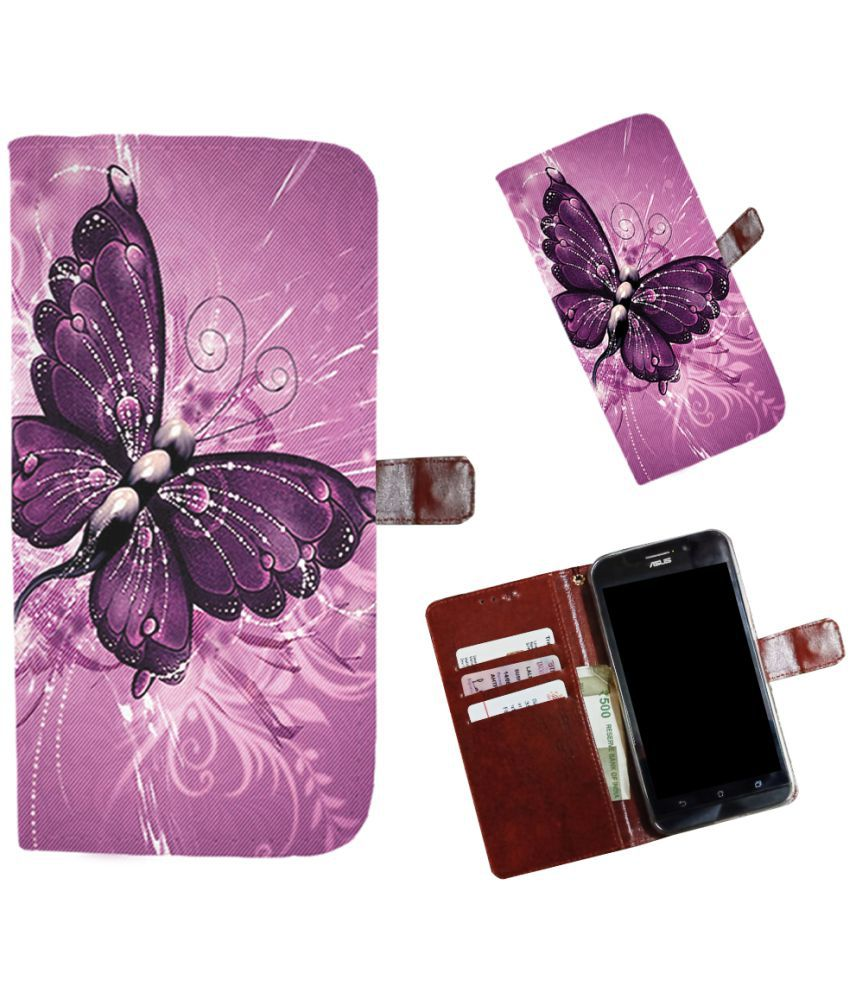 Huawei Ascend Mate 7 Flip Cover by Snooky - Multi