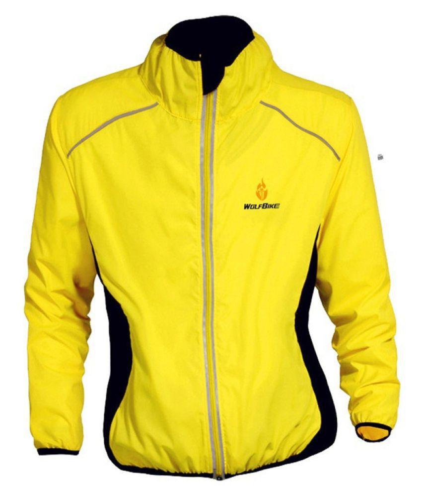 Changing Destiny Polyester Short Rainwear - Yellow