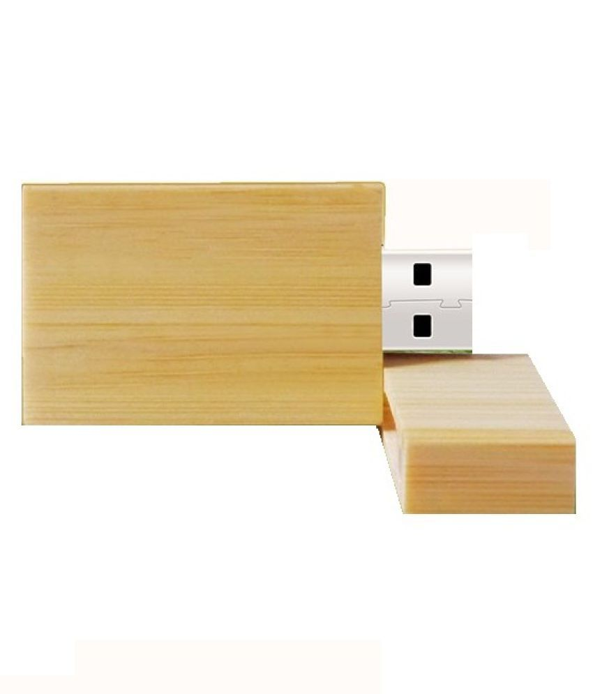 KBR Ultra stylish wooden body 4GB USB 2.0 Utility Pendrive Pack of 1