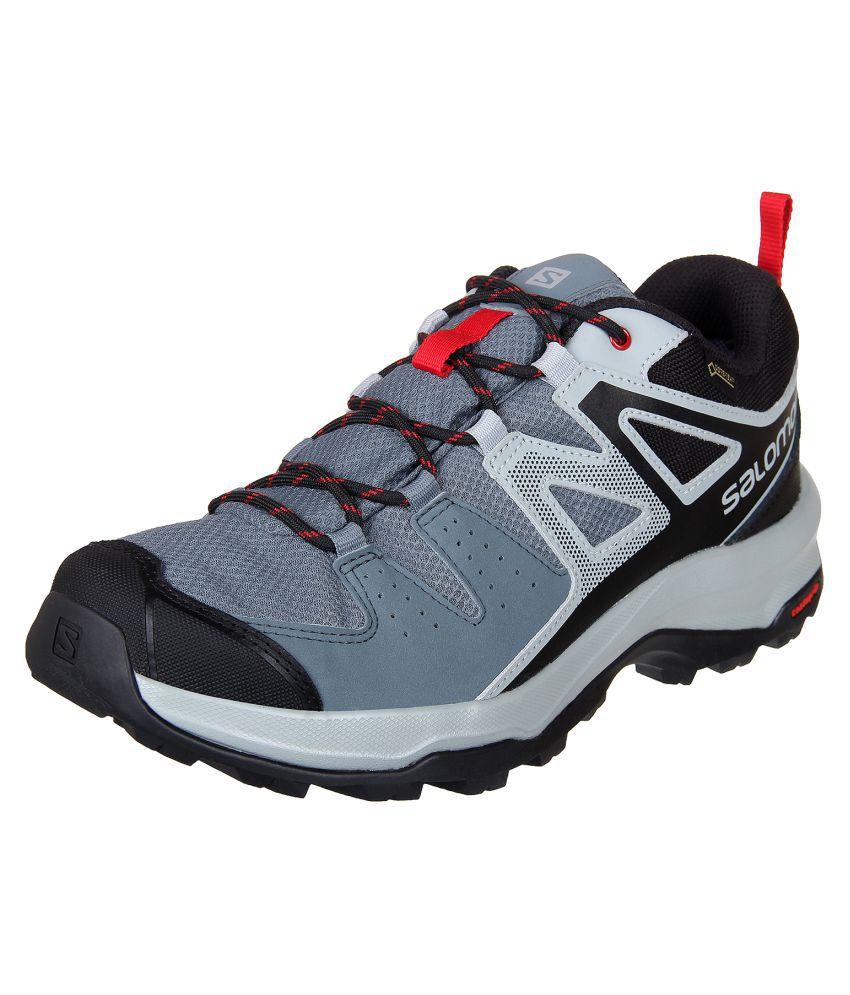 e353ecaf5d2 Salomon X RADIANT Gray Hiking Shoes