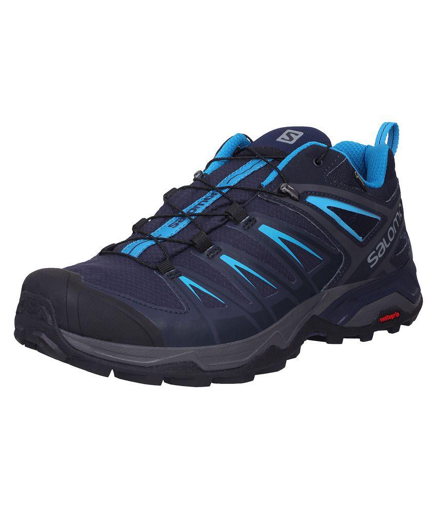 buy online 2c161 99c76 Salomon X ULTRA 3 GTX Blue Hiking Shoes