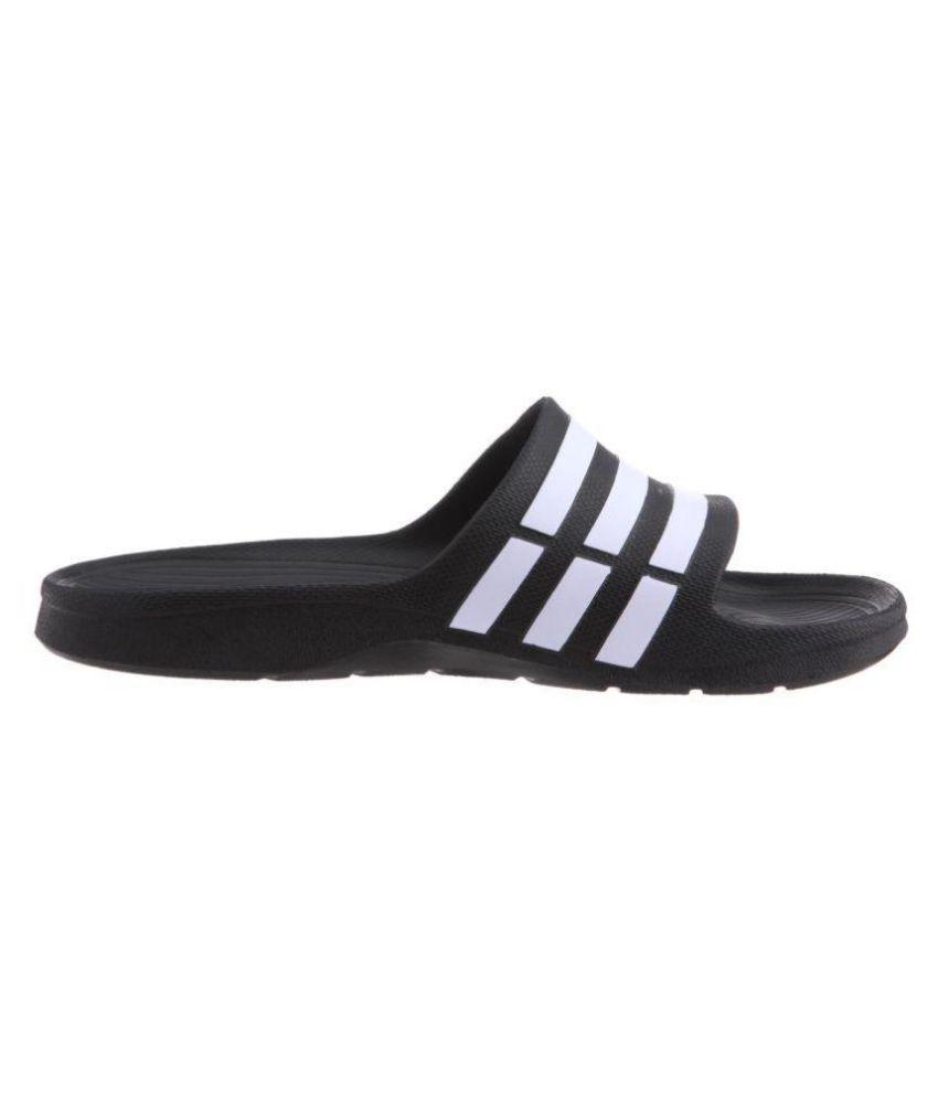 aa8ffcac8 Adidas Dare Duramo Slide Black Slide Flip flop Price in India- Buy ...