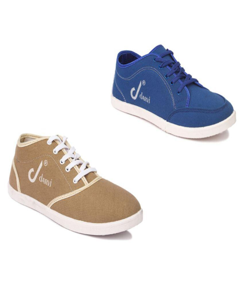 581bf8479ec Czar Darvi Men s Combo Canvas Shoes Beige Casual Shoes - Buy Czar Darvi  Men s Combo Canvas Shoes Beige Casual Shoes Online at Best Prices in India  on ...