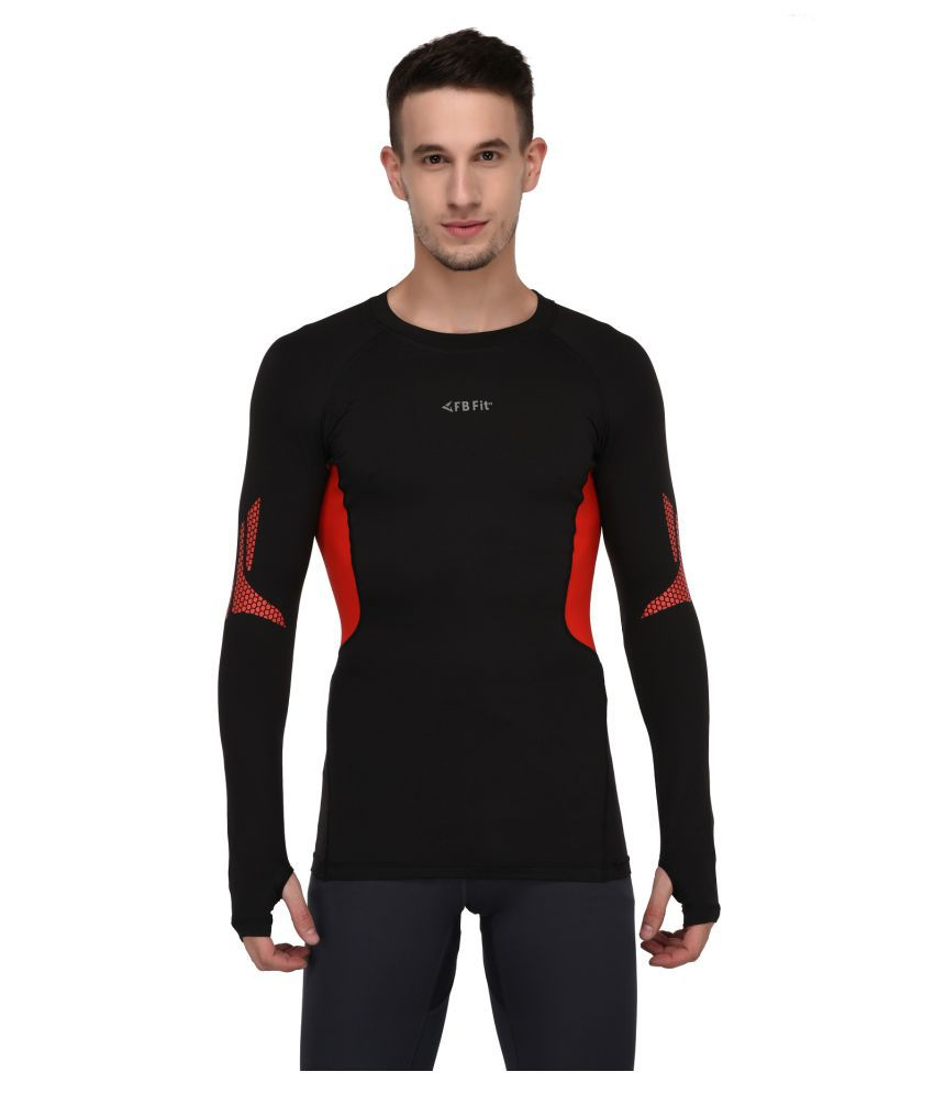 Finity Black Round T-Shirt Pack of 1