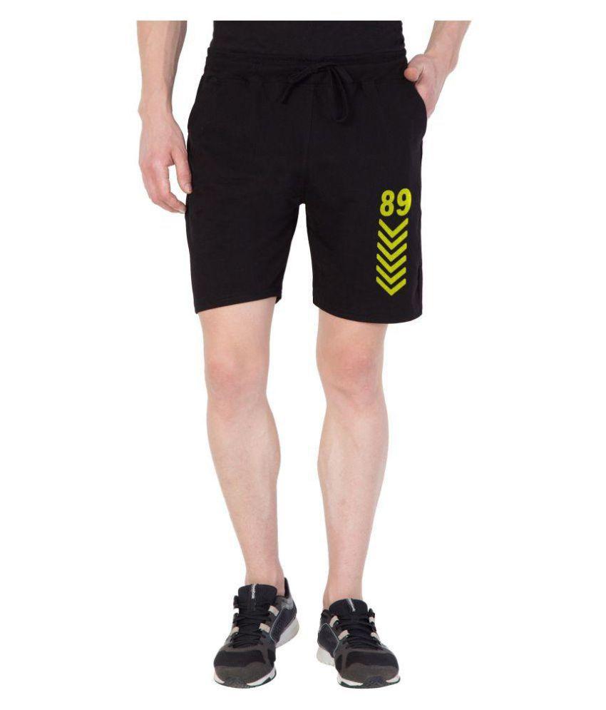 Haoser Black Shorts