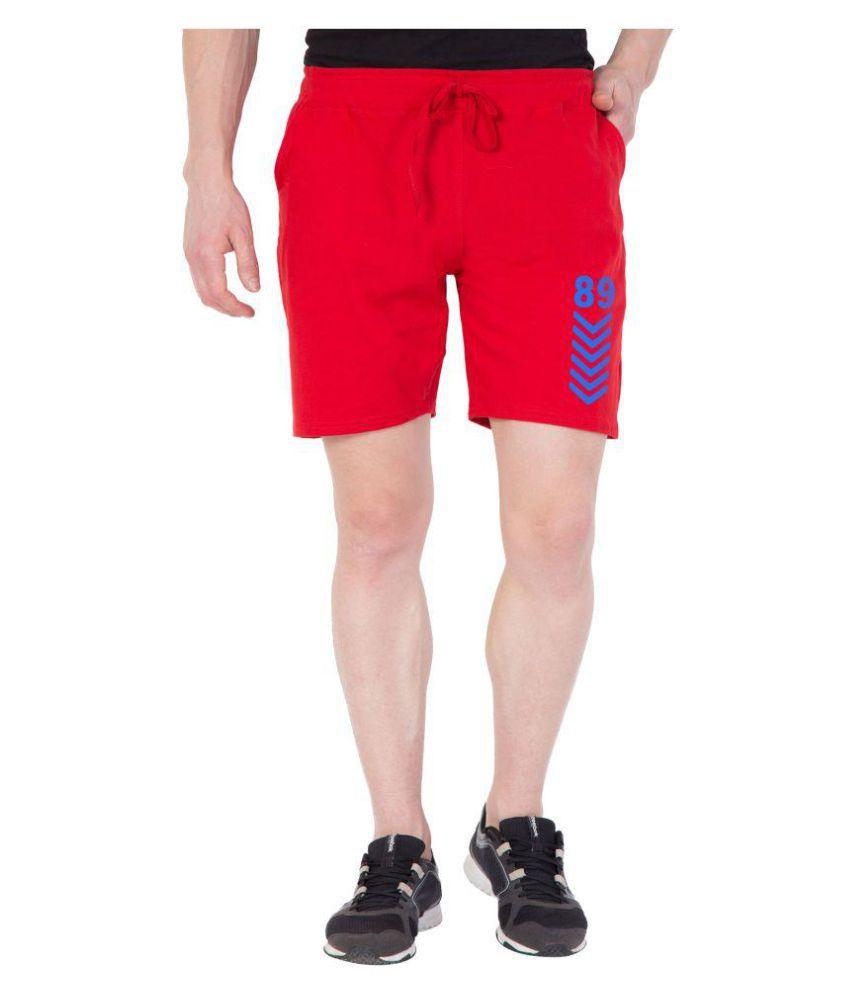 Haoser Red Shorts