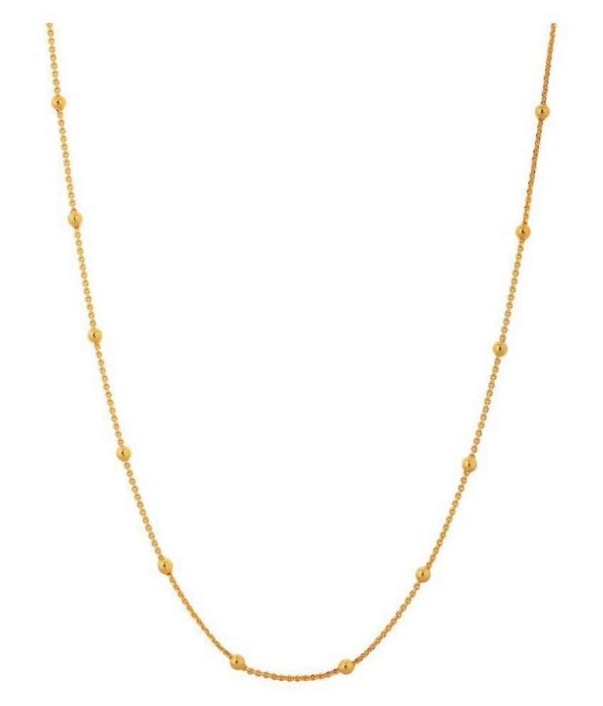 Jewar Mandi Chain 24 Inches 1 Gram Gold Plated Finish Jewelry For Women &  Girls 7930
