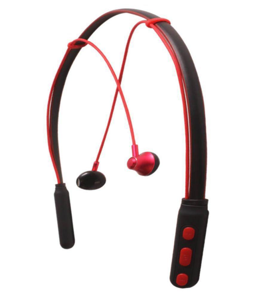 TSV V21 Design For HONOR 7X Bluetooth Headset - Red
