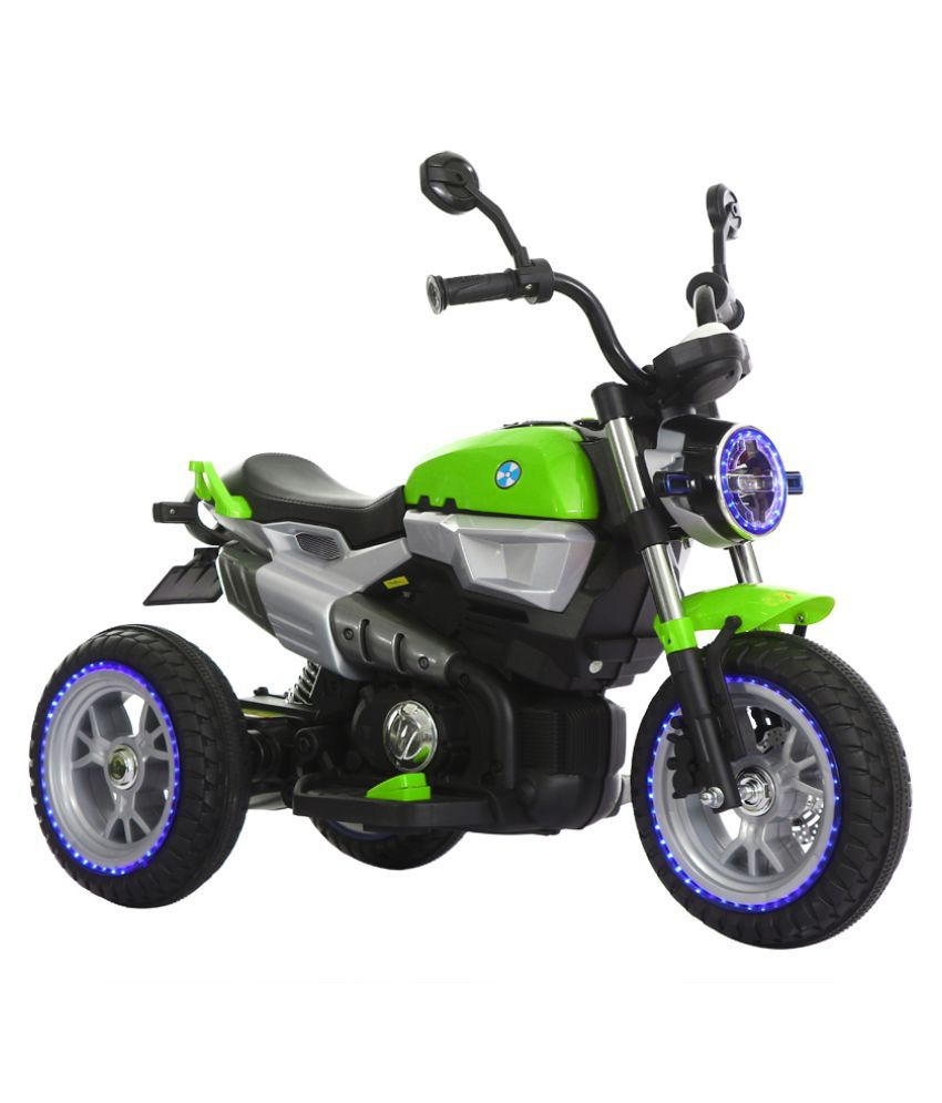 b51327d21eb Toyhouse 3-Wheel Hot Rod Bike Rechargeable battery operated Ride-on for kids,Green  - Buy Toyhouse 3-Wheel Hot Rod Bike Rechargeable battery operated Ride-on  ...