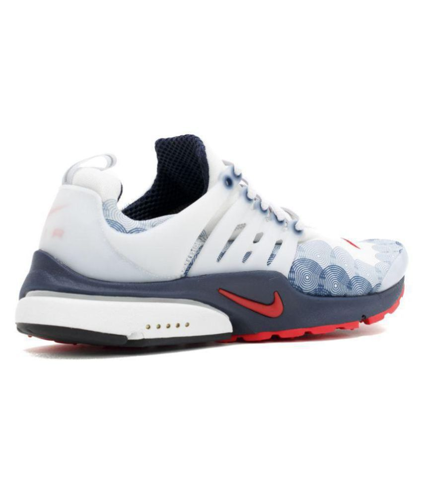 best loved ba952 c42fa ... Nike Air Presto Olympic USA White Running Shoes ...