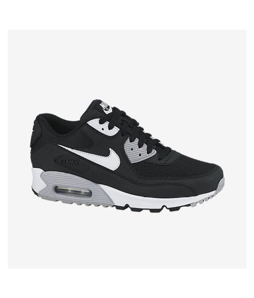 sneakers for cheap 87eb7 853d4 Nike AIR MAX 90 ESSENTIAL Breathable Black Running Shoes