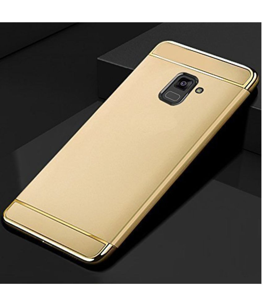 detailed look b8414 07d79 Samsung Galaxy J6 Plain Cases COVERNEW - Golden
