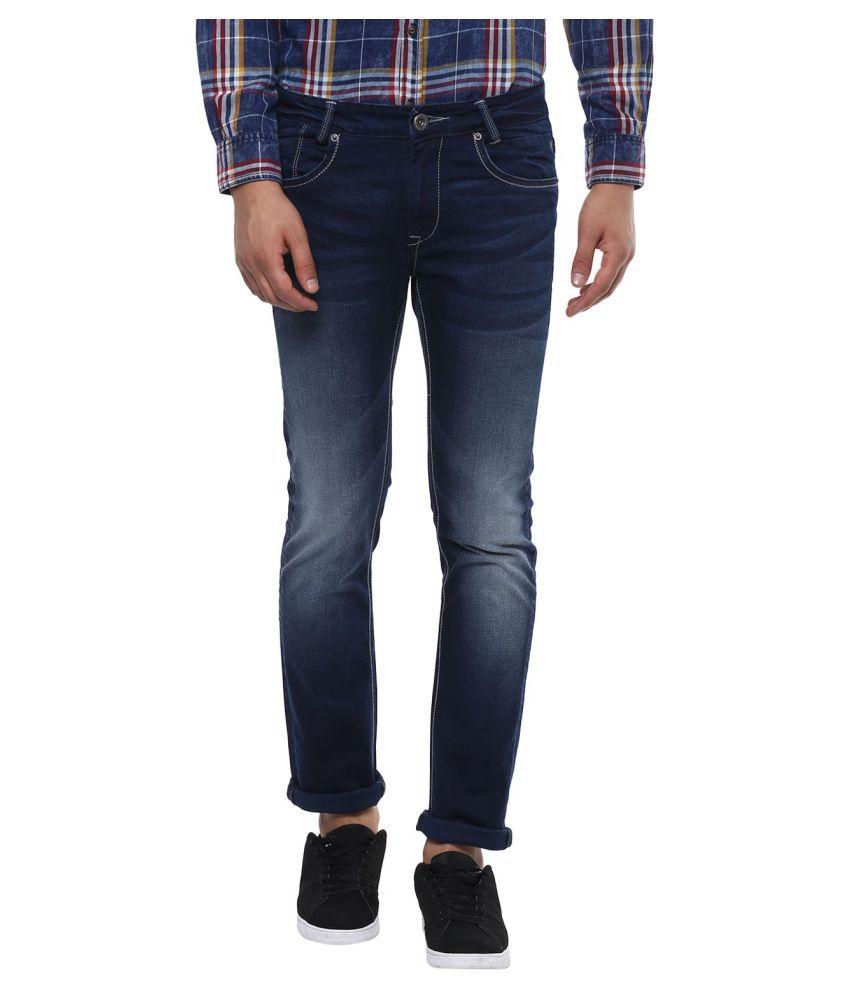 Mufti Blue Slim Jeans