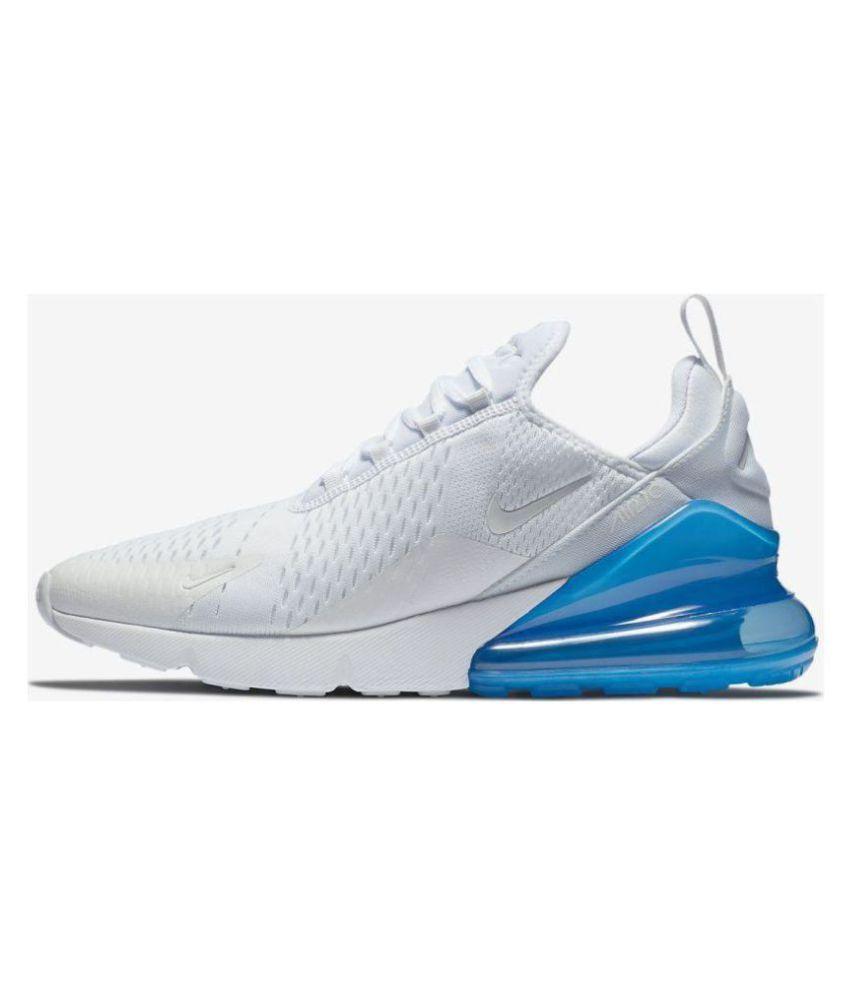 7029640a16d1a Nike AIR MAX 270 White Running Shoes - Buy Nike AIR MAX 270 White ...