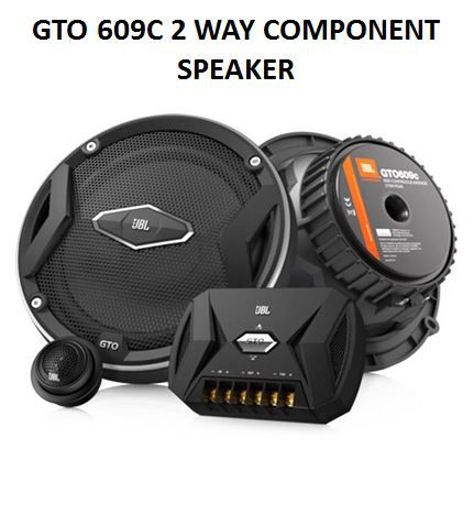 Jbl Gto 609c 6 Inch 2 Way Component Speakers 360 W Pair Of