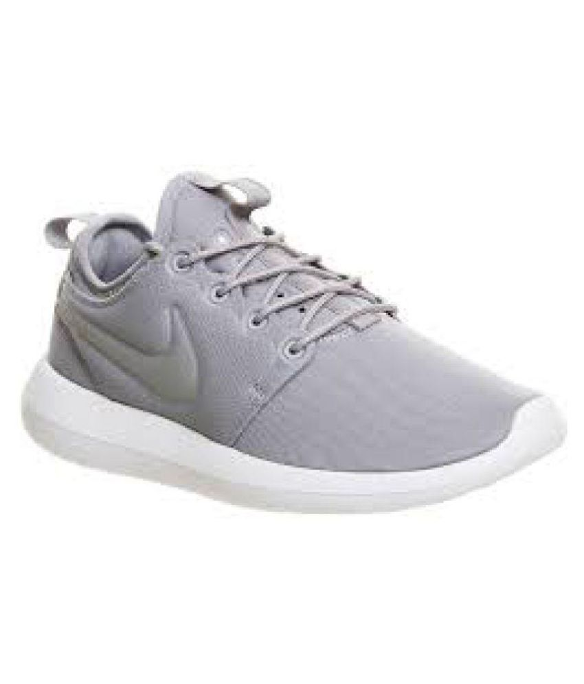 15241f266aabb Nike Roshe Two Grey Running Shoes - Buy Nike Roshe Two Grey Running Shoes  Online at Best Prices in India on Snapdeal