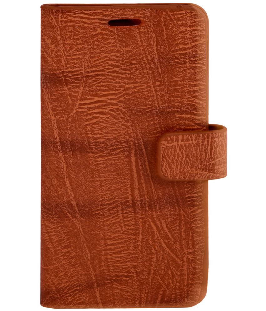 LG X Power2 Flip Cover by Zocardo - Brown