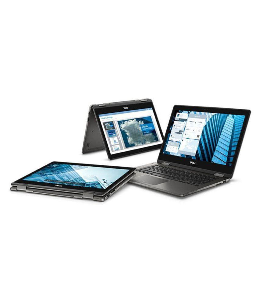 Dell Latitude 3379 Hybrid (2 in 1) Core i3 (6th Generation) 8 GB 33.78cm(13.3) Windows 10 Pro Integrated Graphics Black