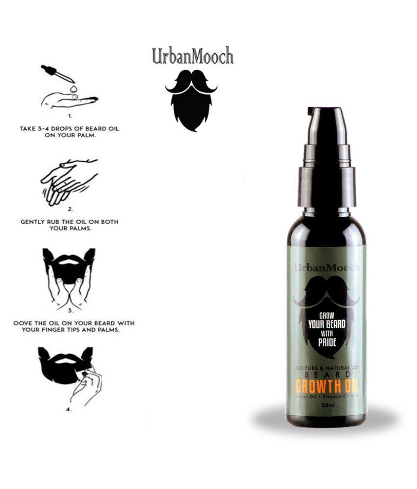 UrbanMooch Faster Beard Oil For Growth 50 ml