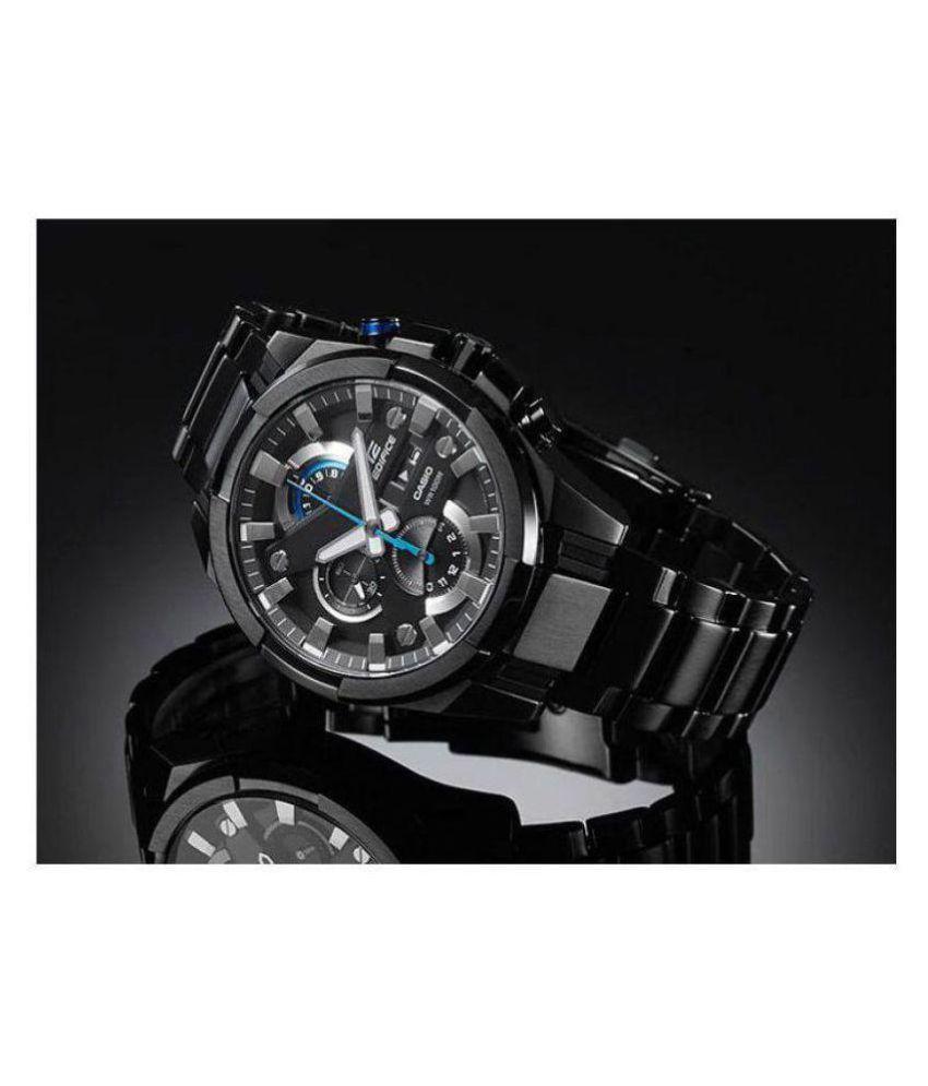 57bb66cc316b Casio Casio Edifice Black EFR-540BK-1AVUDF watch for Men Stainless Steel  Chronograph - Buy Casio Casio Edifice Black EFR-540BK-1AVUDF watch for Men  ...