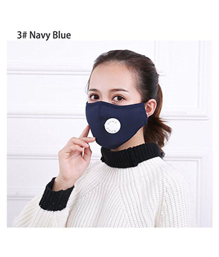 192106e74c5 Jern Washable Reusable Cotton Anti Pollution Mask Dust Respirator (Blue)   Buy Jern Washable Reusable Cotton Anti Pollution Mask Dust Respirator  (Blue) ...