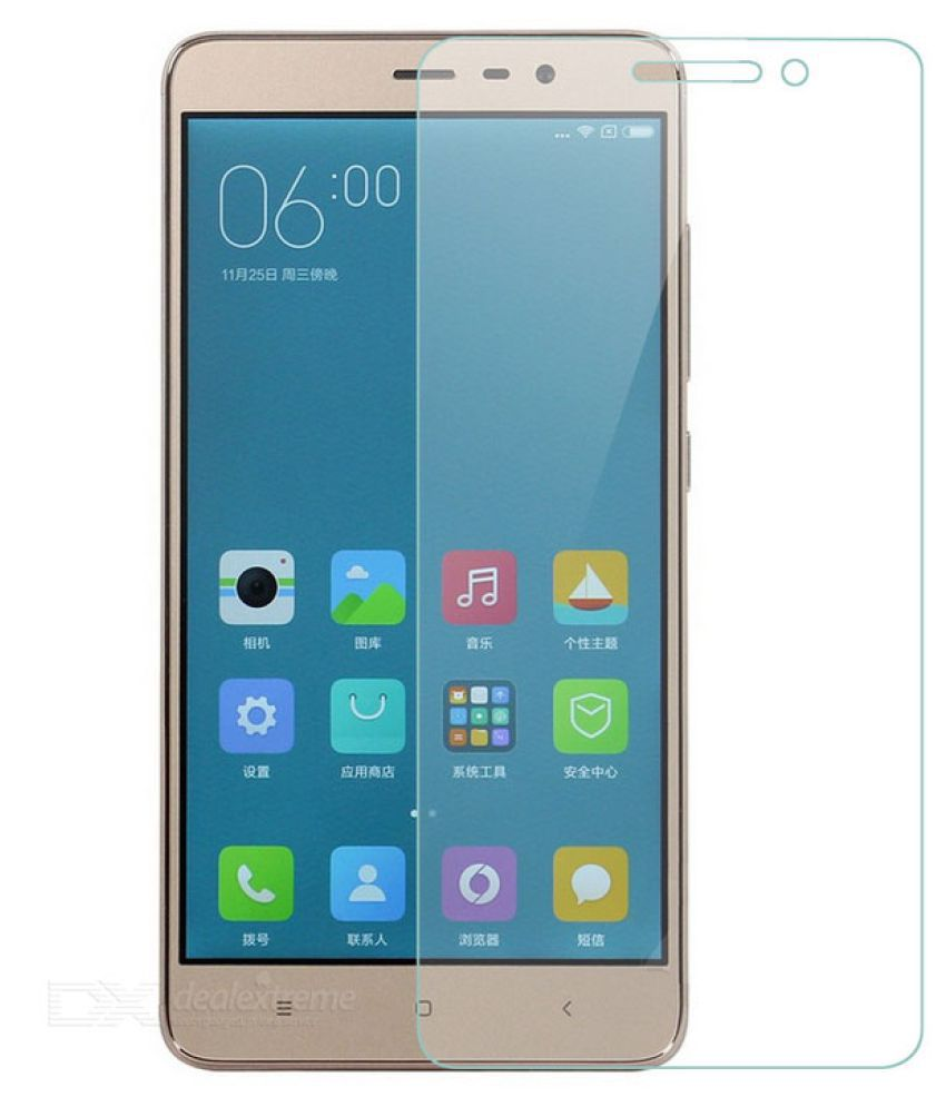 REDMI NOTE 5 Tempered Glass Screen Guard By JKR IMPORTED GLASS