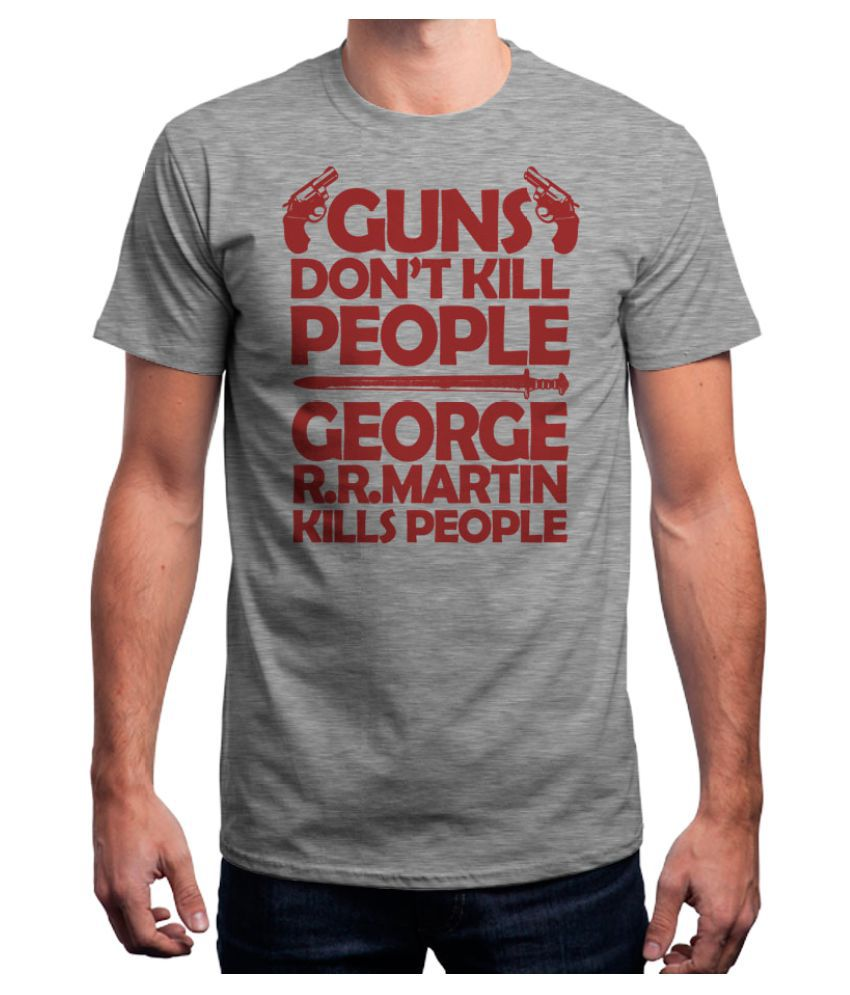 Redwolf Grey Round T-Shirt