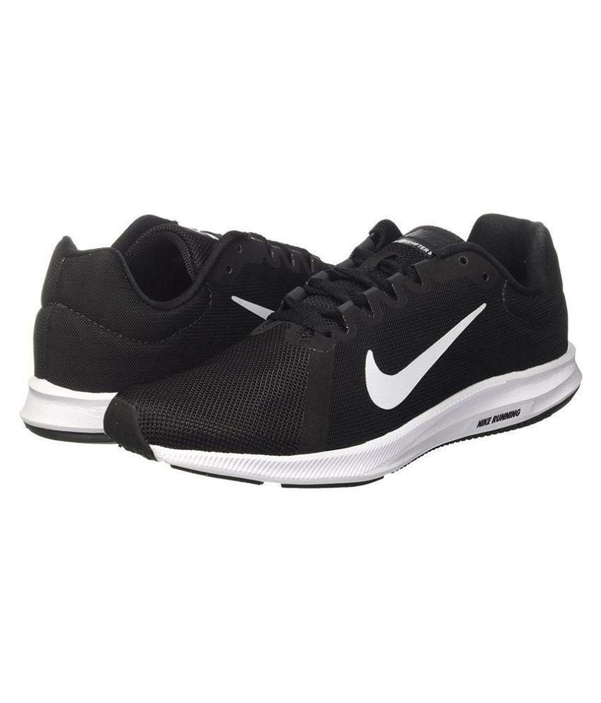 a3cb23579bfb Nike DOWNSHIFTER 8 Black Running Shoes - Buy Nike DOWNSHIFTER 8 ...