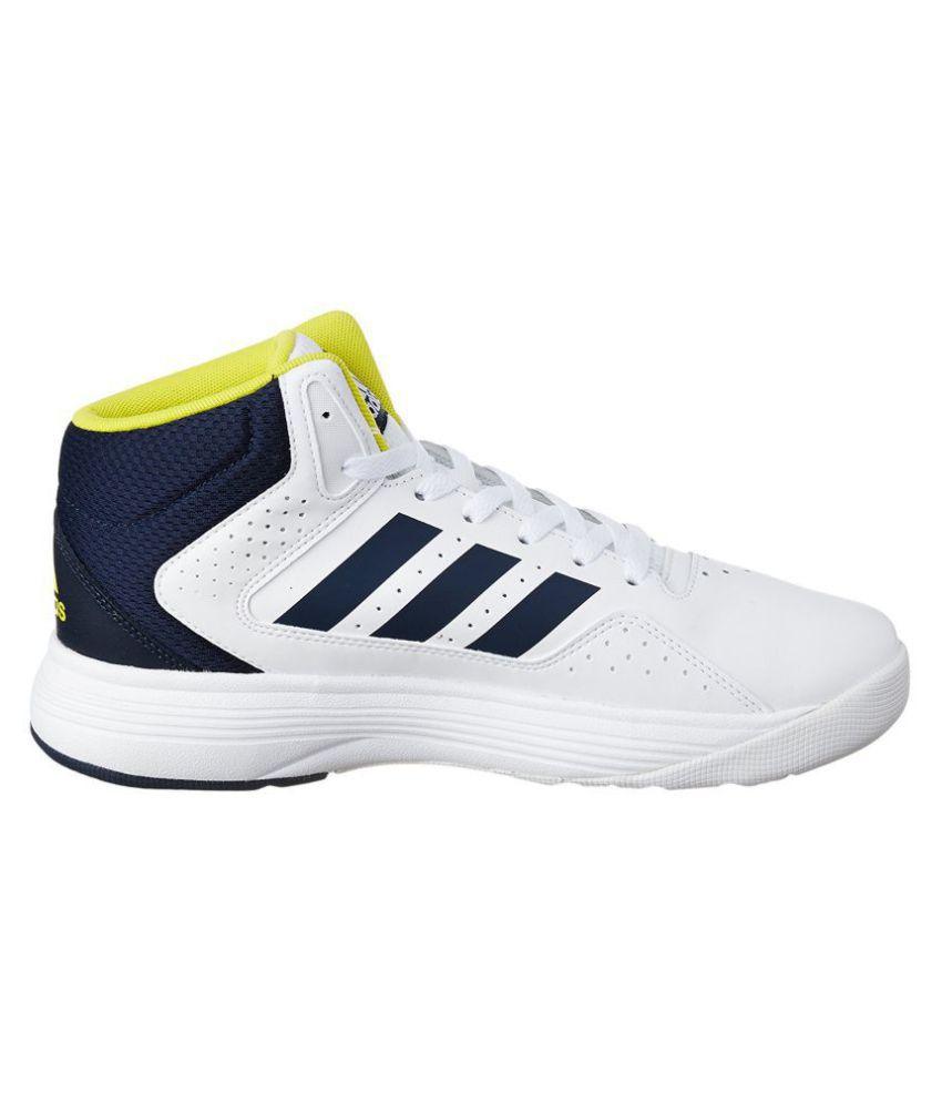 cab92cbd8757 Adidas CLOUDFOAM ILATION MID White Running Shoes Adidas CLOUDFOAM ILATION  MID White Running Shoes ...