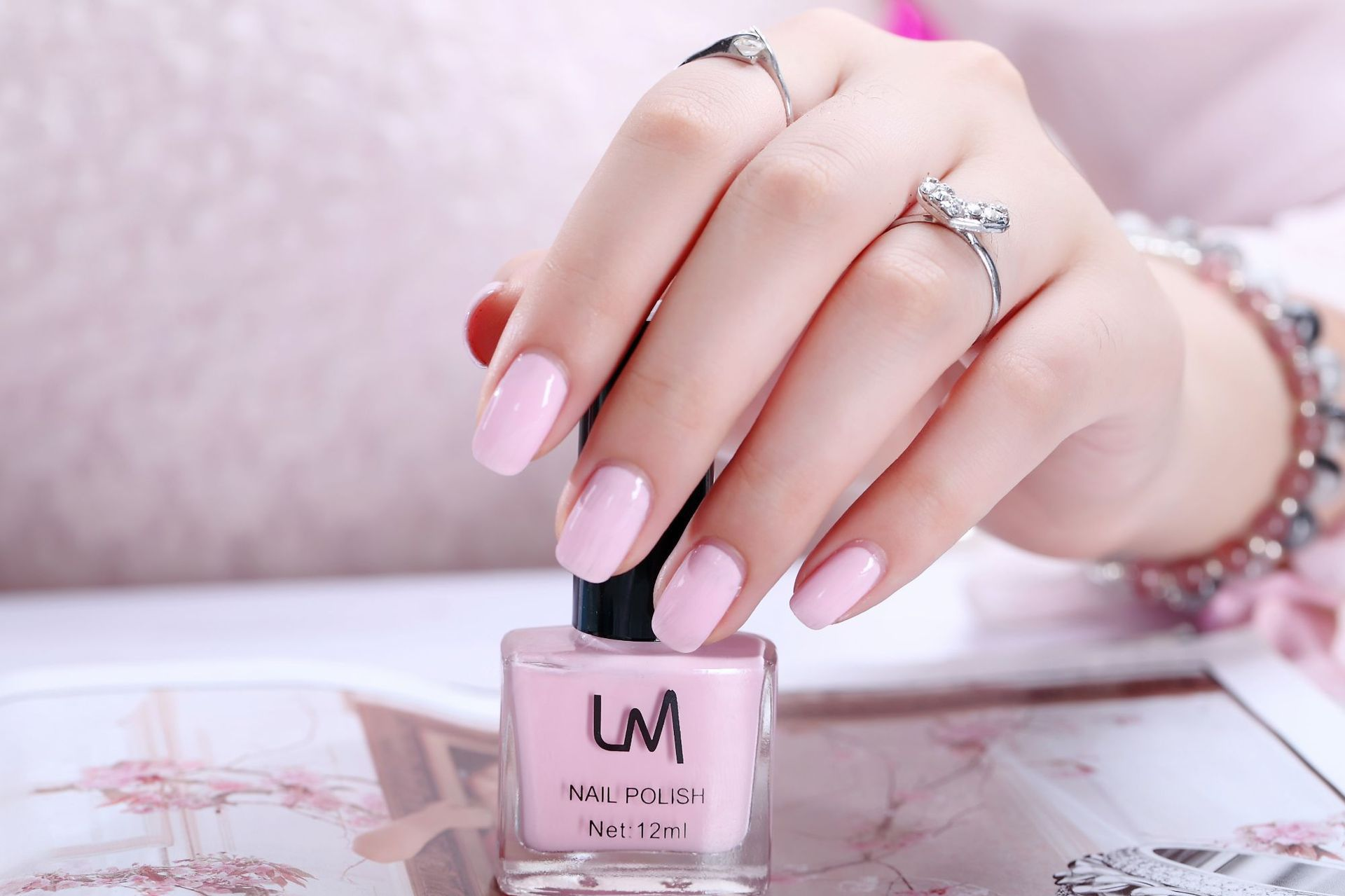 Miss Rose Nail Polish #19 As picture Water 48g gm