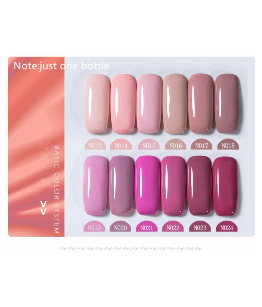 Miss Rose Nail Polish N013 As Picure Glossy 35g gm: Buy Miss Rose ...