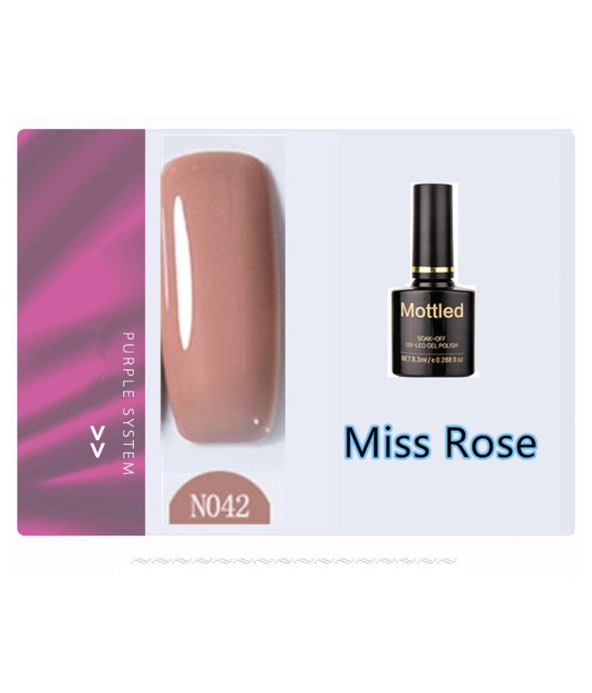 Miss Rose Nail Polish N042 As Picure Glossy 35g gm